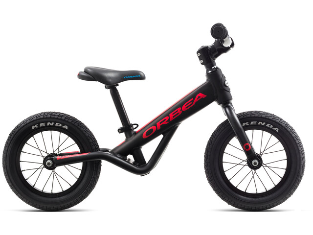ORBEA Grow 0 Enfant, black/red